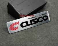 New arrive for CUSCO aluminum 3D Badge Emblem car sticker 100mm*26mm good quality