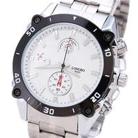Hot New Fashion Brand Suppliers Promotional Business Gifts Men's Sports Casual Luxury Waterproof Steel Quartz Watch LONGBO