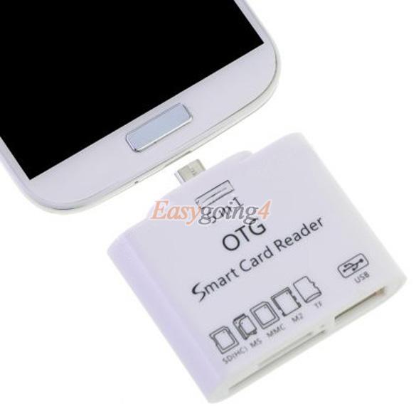 Кардридер USB OTG EA14