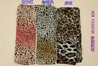 Free Shipping 160*50CM Chiffon Leopard Scarves