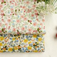 Superdeals 140CM*50CM  daisy flowers designer cotton poplin fabric handmade patchwork sewing fabric for women dress cloth tissue