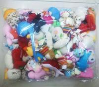 100pcs/lot Collection Of Plush Toys,More Than 10style Animals Dolls For Phone/Key/Bag Pendants Cartoon Plush Stuffed Toy Dolls