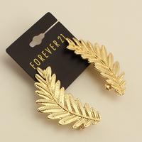 Fashion fashion leaves accessories earrings stud earring stud earring female e339