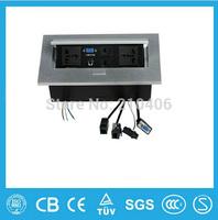 Conference room, multi-function desktop information conversion box panel drawing multimedia desktop socket socket