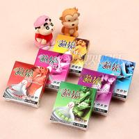 Freeshipping Adult products Bob sets profiled shaped sets of barbed sets condom condom delay sets super stimulus 10pcs