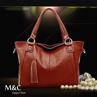 New Arrival Fashion Portable Diagonal Tassel Women Leather Handbags Women Messenger Bag Desigual Bag Free Shipping SD-103