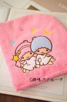 Little Twin Stars Hair Drying Cap Towel Hair Wrap--Christmas Gift Novelty Toy