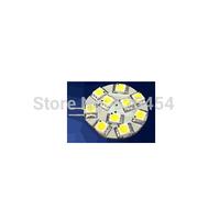 LED G4 light;10pcs 5050 SMD LED;3W;DC12V input