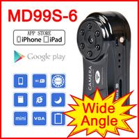 Clock IP Camera wireless WiFi camera 640*480 Mini camera Pinhole CCTV DVR Hidden camera For Android IOS Phone Tablet PC Pad Pod