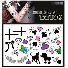 Cheap Cartoon Flower Tattoos