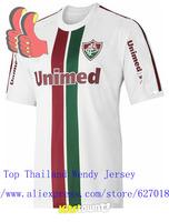 A+++ Top Men Brand Thailand 2014 Brazil Fluminense Thai New Football Soccer Jersey Futbol Kit Shirt