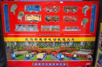 Thomas electric train track suspension big set thomas toy train rail car set