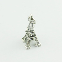 2014 Hot Sell  Tower   Dangle for Floating Charm Living Locket Chains & Charm pendant & Bracelets   e649 (Minimum order $10)
