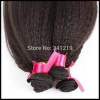 "aliexpress sale brazilian virgin hair kinky straight italian coarse yaki human hair double weft quality virgin remy hair 8""-32"""