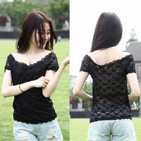 Free Shipping Women's Shirt New Fashion women's clothing Short Sleeve T-Shirt WSK-34-001