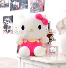 20cm KT cat doll Hello Kitty Plush Doll birthday gift wholesale plush toys free shipping(China (Mainland))