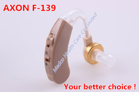 20pcs/lot free shipping New Arrival AXON F-139 Sound amplifier BTE Hearing Aid  Medical hearing device Enhancement deaf Aid