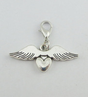 2014 Hot Sell Angel  Dangle for Floating Charm Living Locket Chains & Charm pendant & Bracelets  e769 (Minimum order $10)