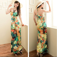 Elegant beads cup flower dress 10780