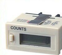 Free ship,6 Digits LCD Display Screw Terminal Resettable Digital Time Range Accumulator Counter H7EC-BLM 0-999999 hours