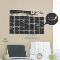 blackboard wall sticker, DIY home decoration Vinyl waterpoof  Removable chalkboard sticker ,Free Shipping