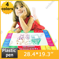 Wonderful Gift Drawing Toy Multicolor Cloth Water Doodle Painting Board Drawing Writing Mat With Magic Pen