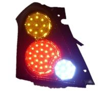 eCityBuy Suzuki Swift 2005-2012 LED Tail Lights Assembly,LED Brake Lights, LED Driving Lights