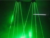 2014 nre high bright 532nm green laser glove / stage laser show/laser dance/ R+L/1 pair