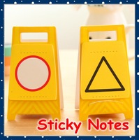 [FORREST SHOP] Cute Korean Stationery Warning Design Kawaii Sticky Notes / Memo Pad / Post It Note Pads Stickers UP-6168
