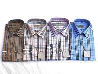 2014 new free Shipping Men's Casual Wear Slim Fit Plaid Shirts Long Sleeve Slim Shirts man shirt turn-down collar shirt