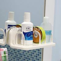 Free Shipping Multifunctional storage rack double suction cup bathroom jiaojia water 33806 shelf