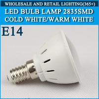 5pcs/lot LED bulb lamp High brightness lights E14 4W 5W 2835SMD Cold white/warm white AC220V 230V 240V Free shipping