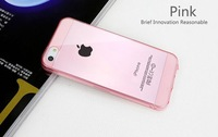 Case for Phone 5S 5 5G Ultrathin Transparent TPU Cover Free shipping mobile phone bags&cases Brand New Arrive  Accessories
