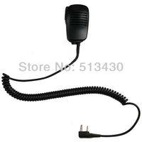 Heavy Duty Kevlar Speaker Microphone+Earpiece/Earpiece for KENWOOD Radio Baofeng uv-5R 3R+with 3.5mm listen-only headset jack