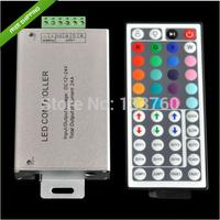 12V-24V DC 24A 288W 44Key IR Remote Controller For RGB LED Strip 5050 3528 SMD Free Shipping