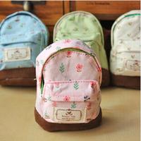 New 2014 classical coin purse women female fresh korean style linen zipper square mini school bag with a hook carteira feminina
