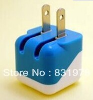 200pcs/lot newest Travel Charger 5V 1A new US mini usb charging for iphone 5s 5c 5G 4GS 4G 3GS