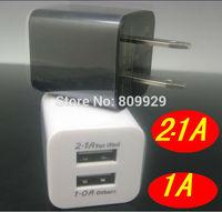 20pcs /lots US EU Plug 2 port dual USB AC wall charger power adapter For iPhone 5 5S ipad Samsung Galaxy s3 s4 S5 HTC