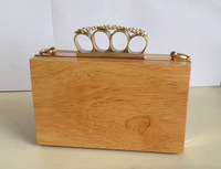 Wooden box party bag F3