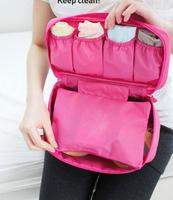 Multi-function Organizer Storage Bag Nylon Waterproof Travel Underwear And Cosmetic Storage Bag 5 Color B0503
