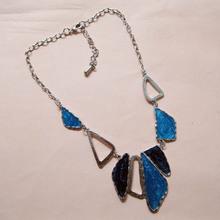 Blue Esmalte Colares Shourouk Necklaces Pendants Colares Bijuterias Collier Bijoux Love Perfumes For Women Relogio Feminino