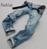 Cool Hot Sales Fashion New 2014 Factory Cotton Brand Mens Jeans Men Jeans Famous True Jeans Factory Sports Gentleman 28-36