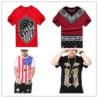 HIP hop unkut t shirt men short tee Similar with other brands mma swag  pyrex dsq dgk nk geek hiphop Music rock men tee shirts