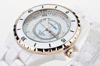 Genuine Long wave watches brand women watches fashionable female ceramic waterproof watches sport women luxury top quality watch