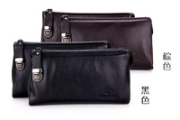 2014, the first layer leather handbags, soft leather purse, men's leather hand bag, men's bags sell like hot cakes