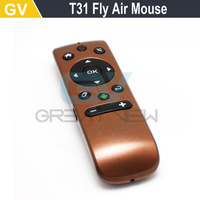 2.4G Wireless Fly Air Mouse T31 Mince Android Remote Control 3D Motion Stick Combo Computer Peripheral Free Shipping