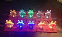 Love Rabbit Portable Different Design Bulb, Apple, Christmas Tree Pocket LED Card Light Lamp Put in Purse Wallet