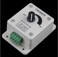 New Brightness LED Light Lamp Strip Dimmer Adjustable Control 12-24V 8A
