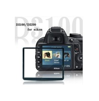 Professional LCD Optical Screen Protector Glass for Nikon D3100 D3200 DSLR Camera w/ Retail Packaging