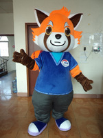 POLYFOAM high quality costume ad mascot costumes Coon costumes